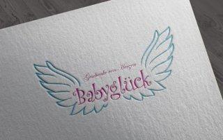 logodesign_Babyglueck_Pfungstadt
