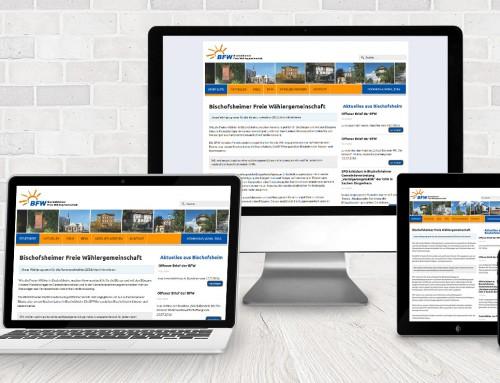 BFW vertraut auf Webdesign 2 Rent