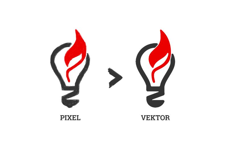 Logo Vektorisierung