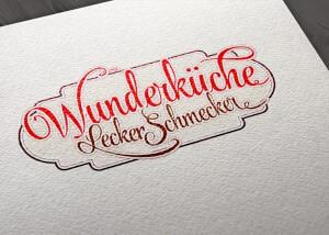 logodesign wunderkueche 300x214 - Wunderküche Leckerschmecker Logodesign