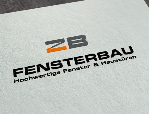 Logodesign – ZB Fenster