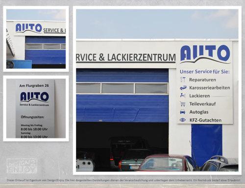 Autoservice Ginsheim Firmenschild