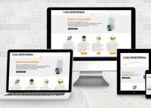 responsive webdesign zbfenster 300x214 - Webdesign für Handwerker - ZB Fenster