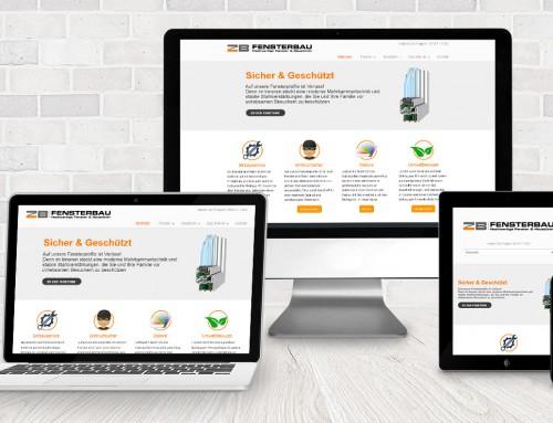 Webdesign für Handwerker – ZB Fenster
