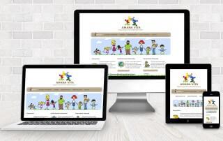 webdesign amana vita 320x202 - Webdesign für Dienstleister - Amana Vita