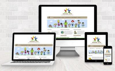 webdesign amana vita - Corporate Design Amana Vita