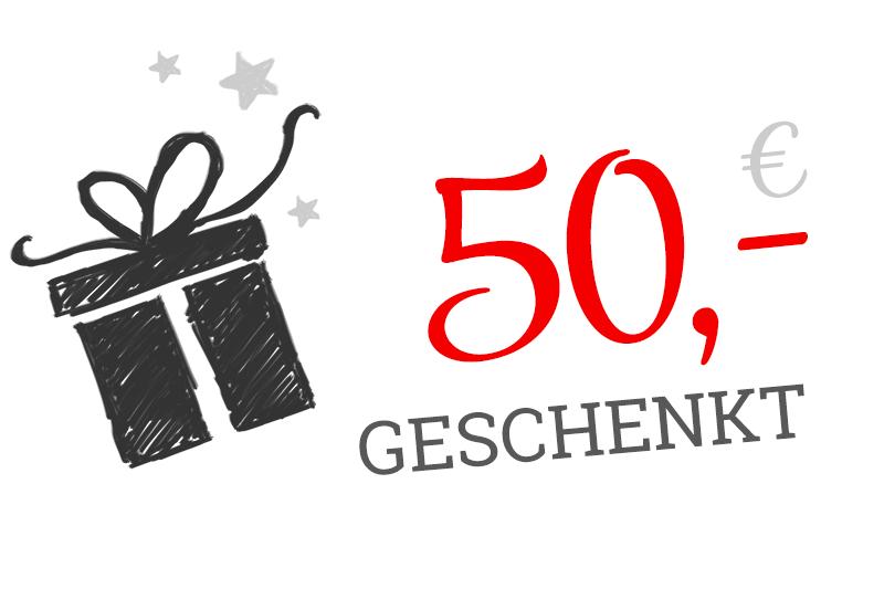 50,- € Provision für eine Empfehlung