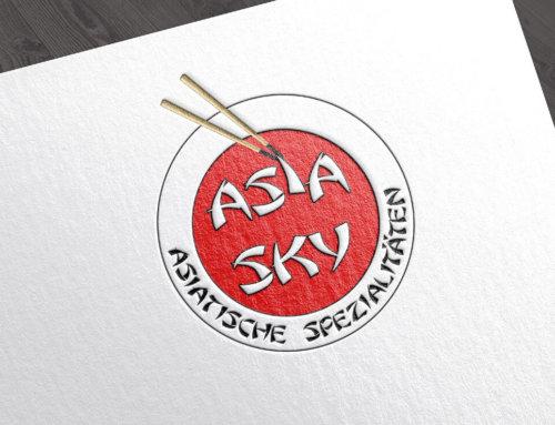 Asia Sky Logodesign