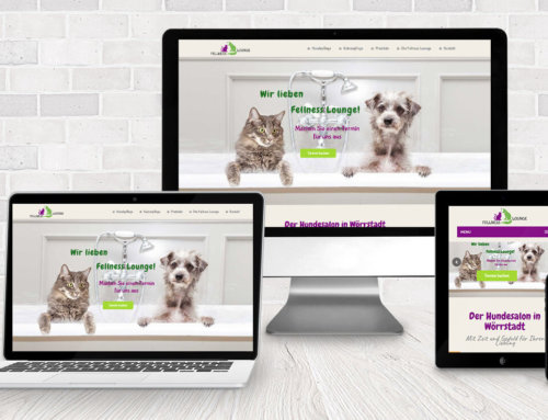 Webdesign Hundefriseur Fellness Lounge