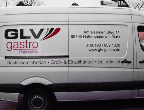 GLV Gastro Fahrzeugbeschriftung