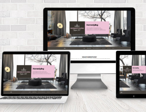 Webdesign Homestyling