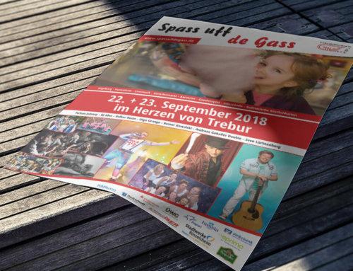 Poster Spass uff de Gass 2018