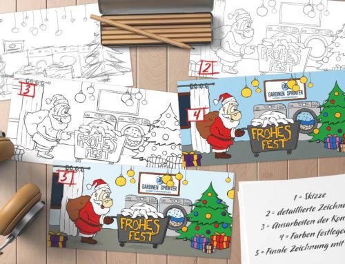 11 Tipps für Weihnachtskarten