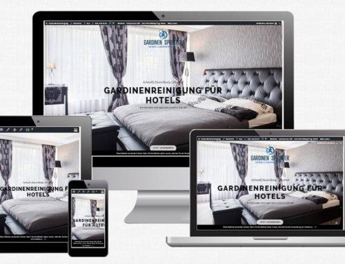 Internetseite Gardinen-Sprinter
