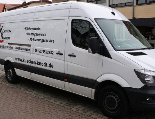 Küchen Knodt – Fahrzeugbeschriftung Nauheim