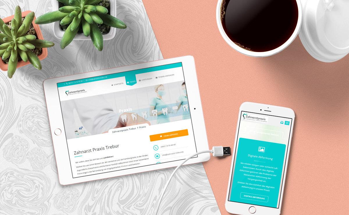 zahnarzt-trebur-webdesign