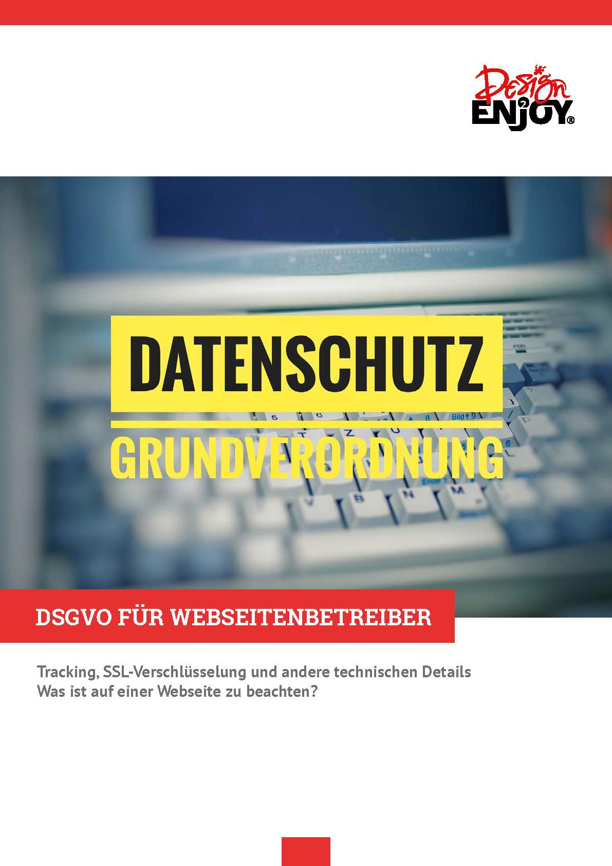 DSGVO für Webseitenbetreiber