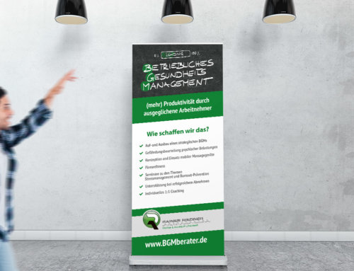 Roll-Up Display Kriftel – BGM Berater
