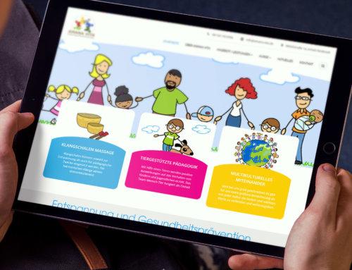 Webdesign für Amana Vita