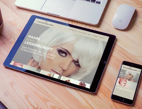 Friseur Webdesign Mörfelden-Walldorf – Haartelier