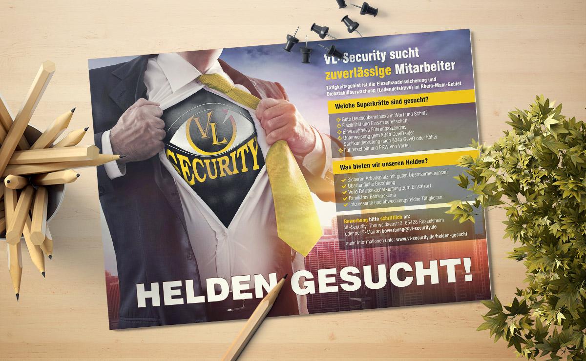 Printwerbung Flyer Rüsselsheim