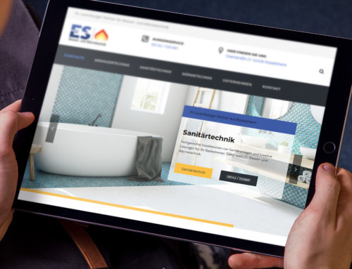 Wasser- und Wärmetechnik – Webdesign Rüsselsheim