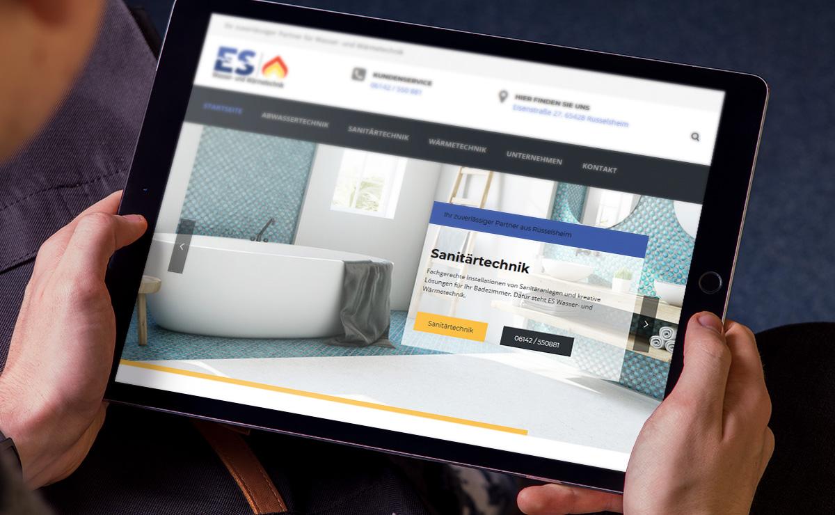 Webdesign ES Rüsselsheim