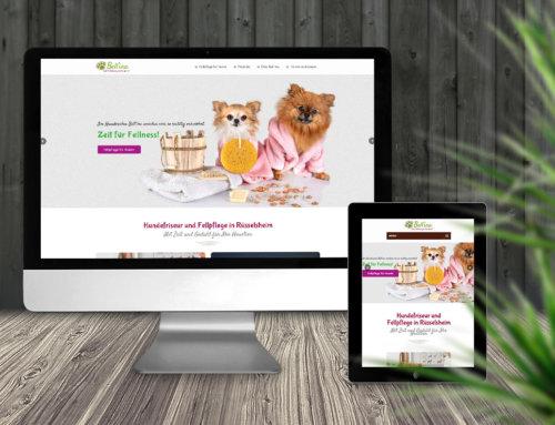 Webseite Hundesalon Rüsselsheim