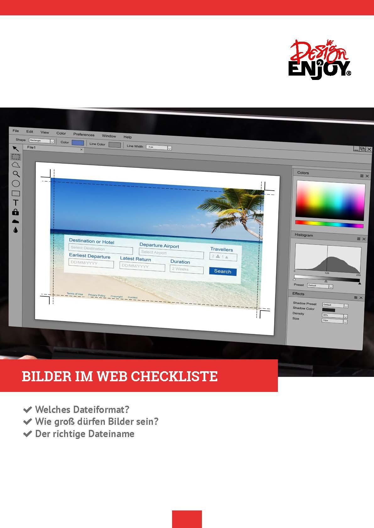 Bilder für Webseiten optimieren